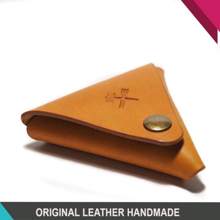 harga Dompet uang koin kulit asli genuine leather handmade saddle stitch Tokopedia.com