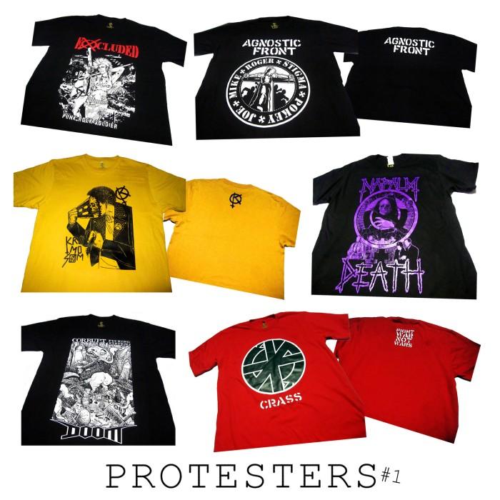 harga Grosir kaos metal punk hardcore protesters Tokopedia.com