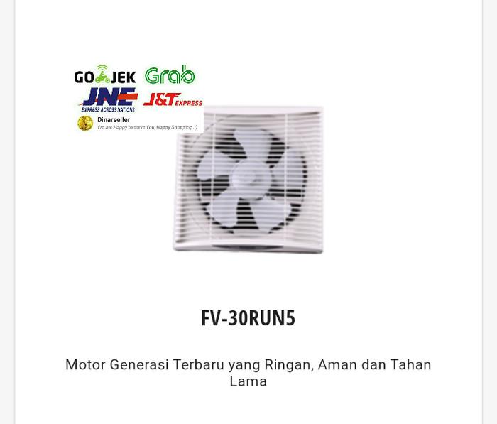 harga Panasonic 30run wall exhaust fan / kipas angin sirkulasi 12 inch Tokopedia.com