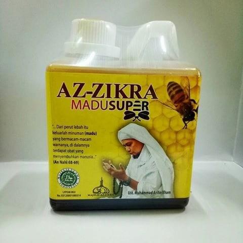 Madu Super Az-Zikra Asli 500gr 100 % | madu ust Arifin Ilham