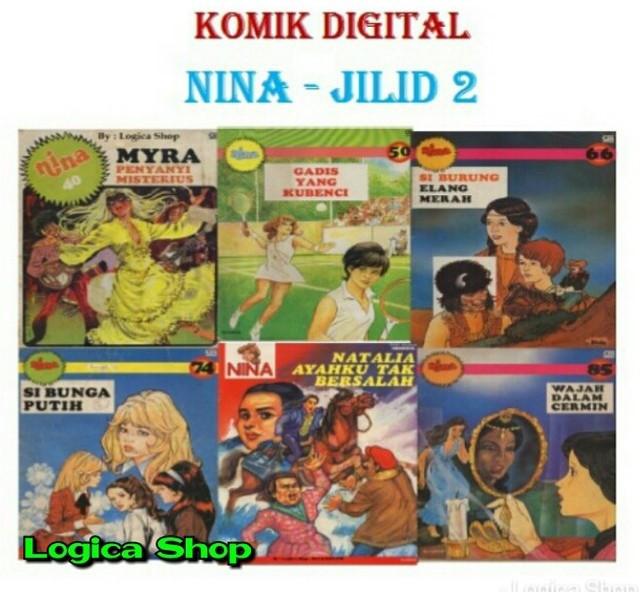 harga Komik digital nina jilid 2 (ebook) Tokopedia.com