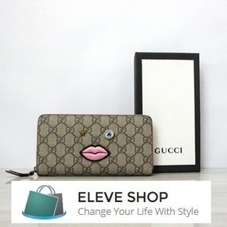 c8b4d97a3b1 Jual GUCCI ZIP AROUND WALLET WITH EMBROIDENED FACE - DKI Jakarta ...