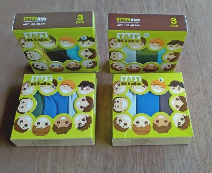 harga Cd anak laki-laki perpack / celana dalam anak laki-laki / cd polos Tokopedia.com