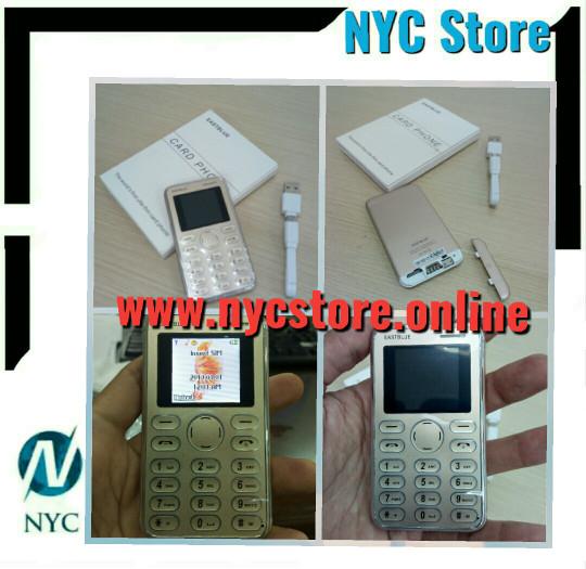 harga Handphone unik ultra slim design mini size kartu atm Tokopedia.com