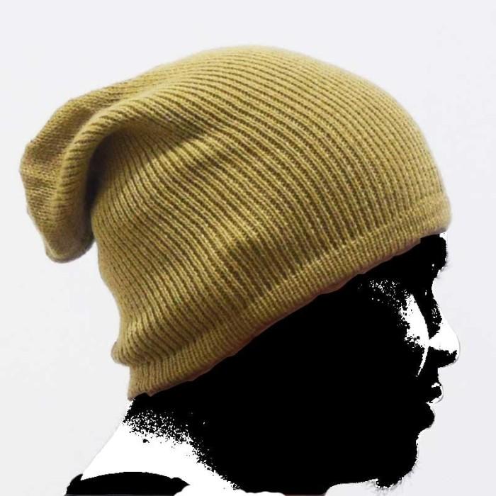 ... harga Kupluk dewasa ukuran all size beanie hat kupluk rajut polos halus  Tokopedia.com dc2c45649d