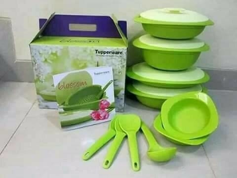 Tupperware Blossom Collection Paket Kado Hadiah