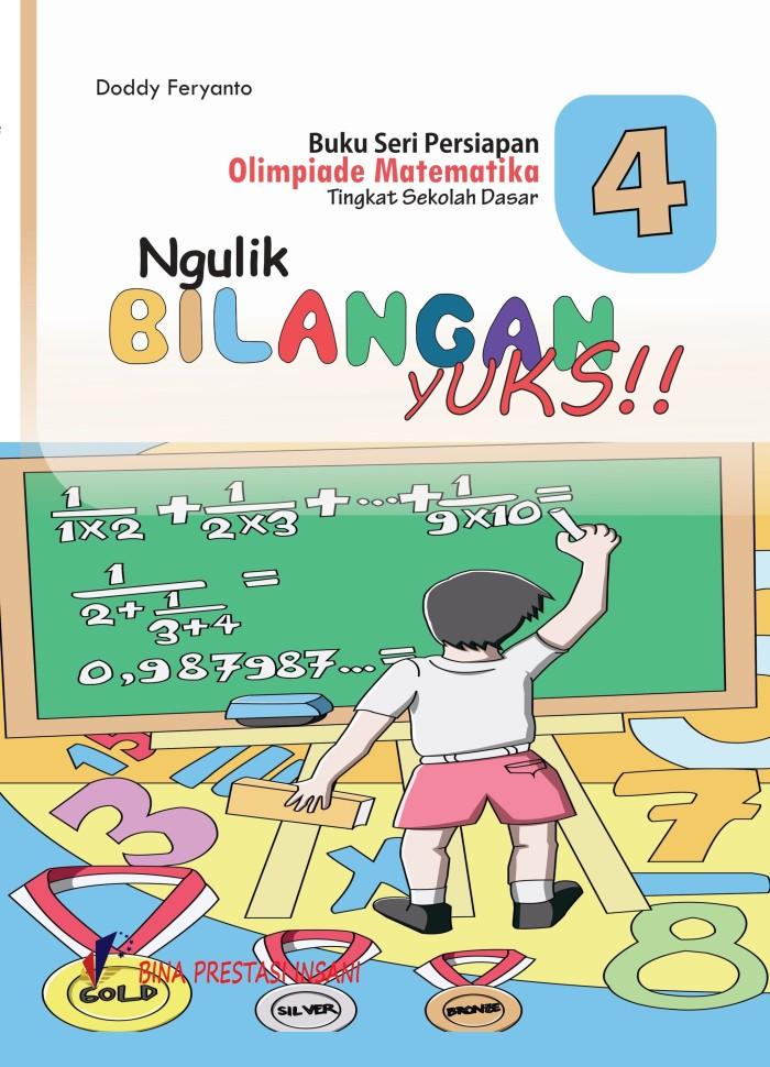 """Foto Produk Seri Persiapan Olimpiade Matematika SD """"Ngulik Bilangan Yuk!"""" dari Toko Buku Olimpiade"""