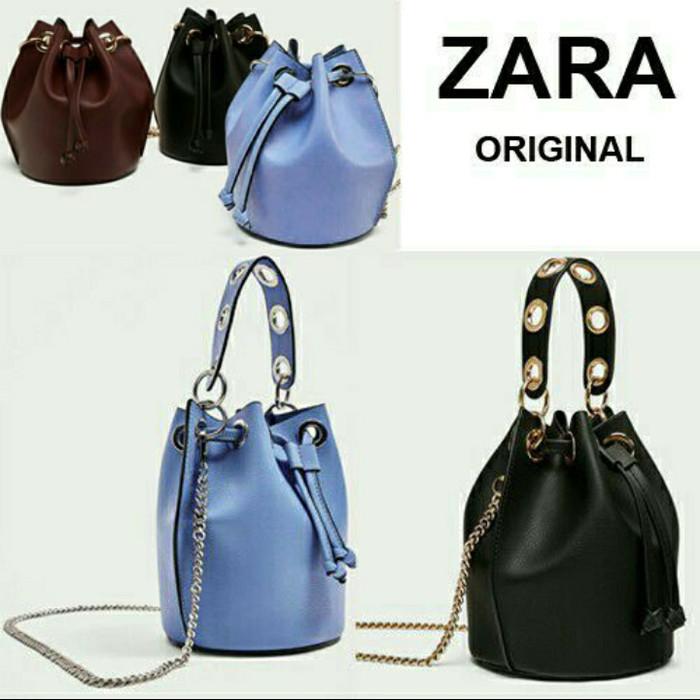 Jual Tas ZARA Original 3309 mini bucket bag tas wanita branded murah ... d62205e9b4