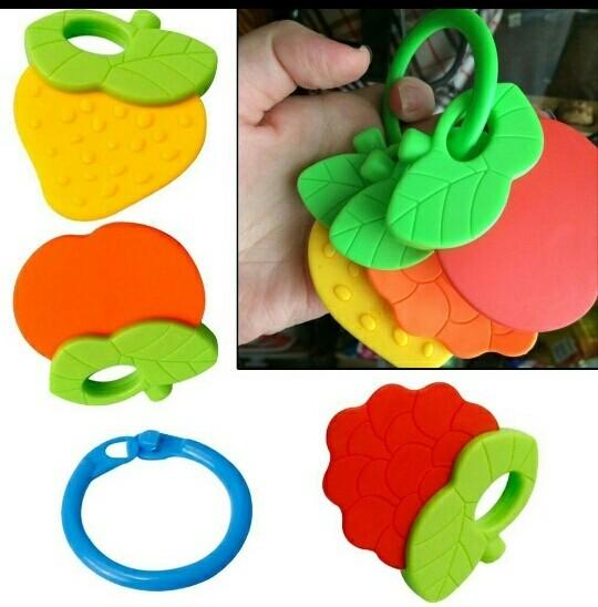 Infant fruit teether. gigitan bayi model buah. ss194