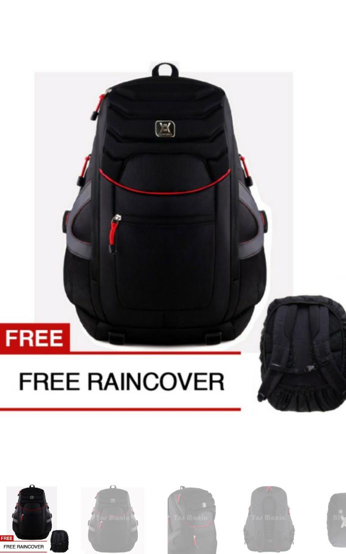 Gear Bag The All New Aligator Backpack - Black + FREE Raincover