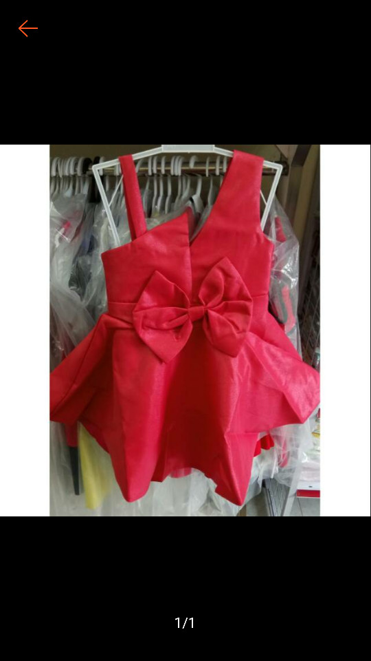 harga Pakaian anak cewek import branded dress sexy cute big ribbon peach kid Tokopedia.com