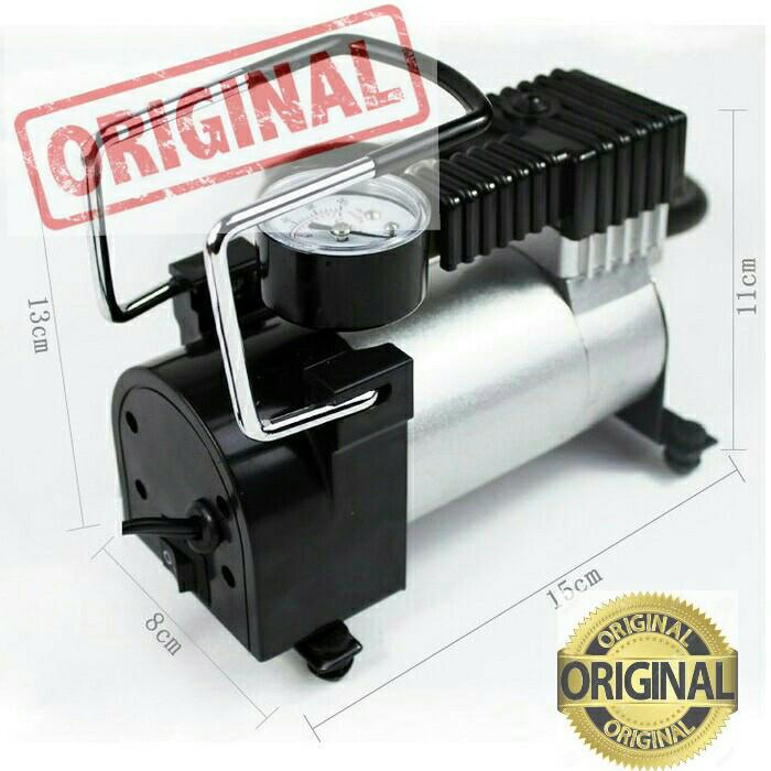 harga Pompa / Kompressor / Kompresor Ban Listrik Portable Usb Lighter Mobil Tokopedia.com