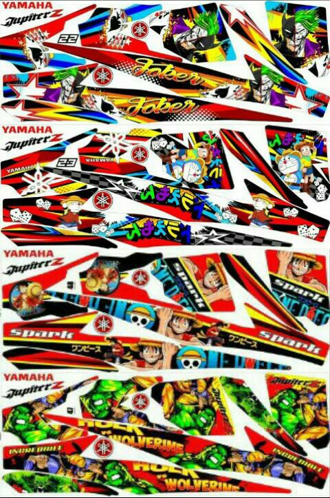 harga Sticker striping variasi animasi jupiter z Tokopedia.com