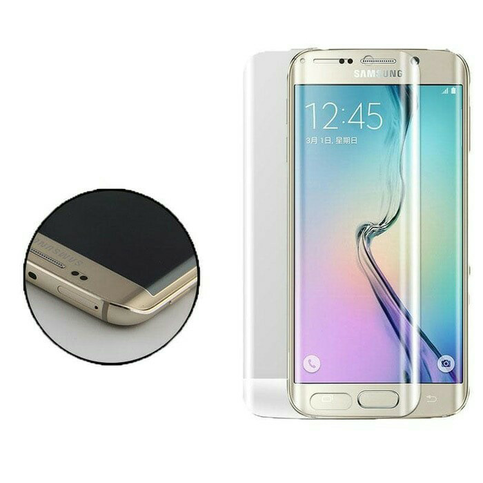 Tempered glass samsung galaxy s6 edge plus / s6 edge + full curved 3d
