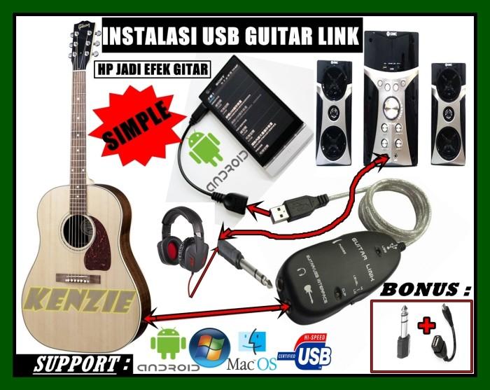harga Usb guitar link cable via hp android Tokopedia.com