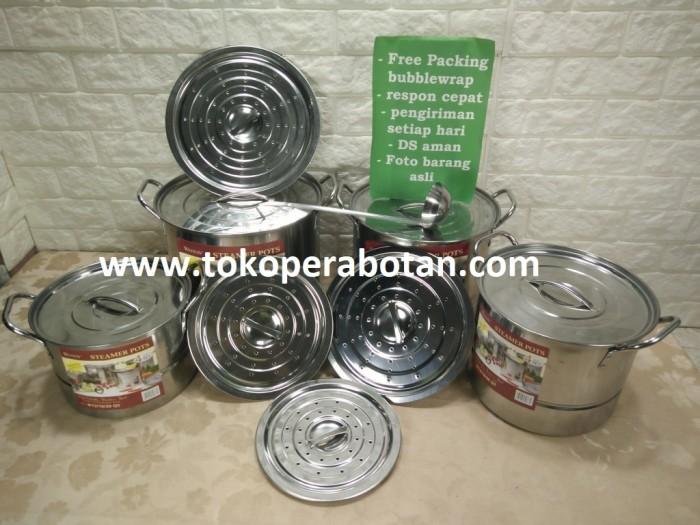 Steamer pot / panci kukus / pengukus weston wstp-40l