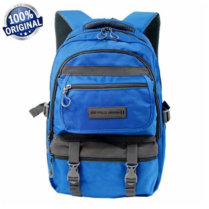 harga Polo design q01 - tas ransel laptop kerja / sekolah Tokopedia.com