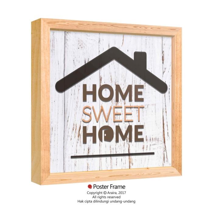 Home Sweet Home - Hiasan Dinding Wall Decor Pajangan Poster Quotes