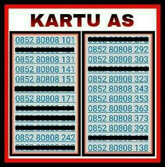 Telkomsel Kartu As Nomor Cantik 0852 88888 049 Daftar Harga Source · Nomor Cantik Kartu AS Kartu Perdana Telkomsel Simpati Indosat XL IM3