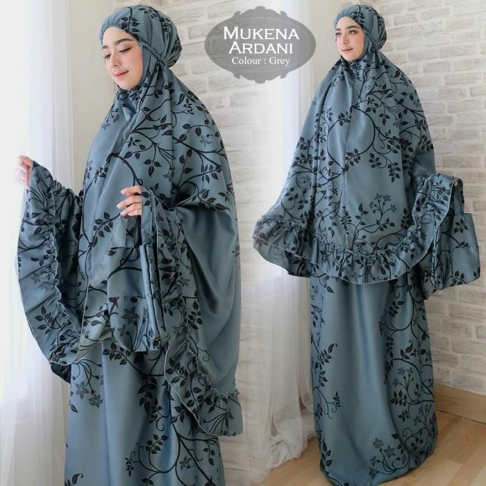 harga Mukena Ardani Grey Tas [hijab 0111] Rav Tokopedia.com
