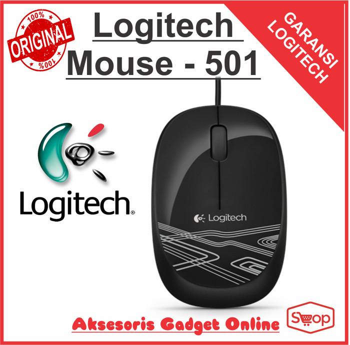 Logitech M105 Mouse Kabel Original ( L068 ) Warna Hitam