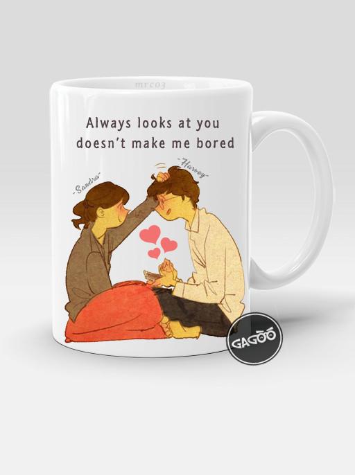 harga Kado couple romantis / kado unik mug custom / puung couple - putih Tokopedia.com