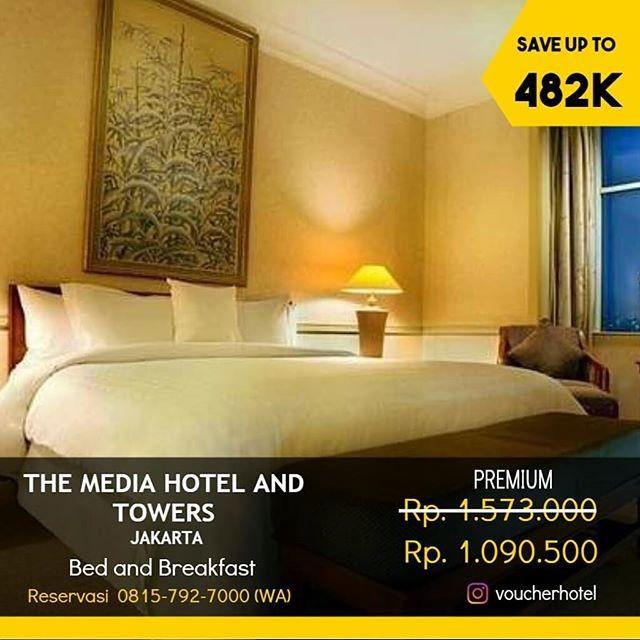 Jual Voucher Hotel The Media Hotel Bintang 5 Di Jakarta Kab Sleman Voucherhotelmurah Tokopedia