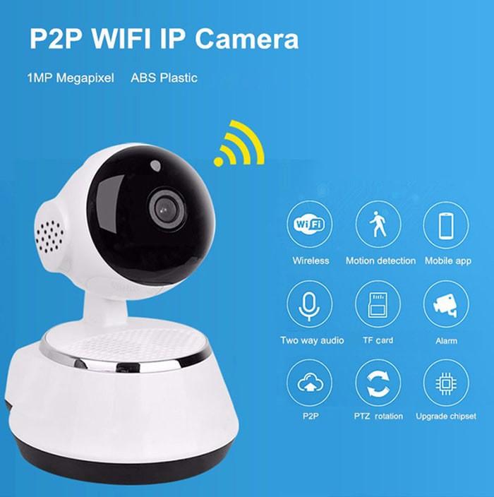 harga Ip camera cctv mini wifi p2p wireless security infrared night Tokopedia.com