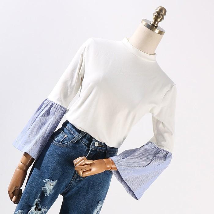 Kemeja Atasan Wanita Dress Korea Import Baju Kerja Pakaian Fashion…