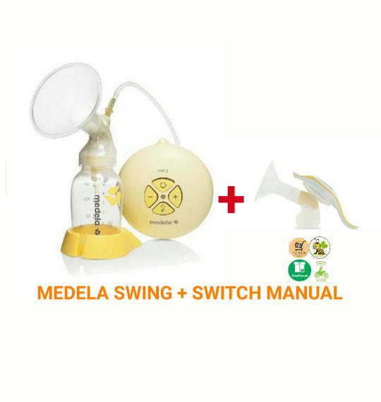 medela swing breast pump manual