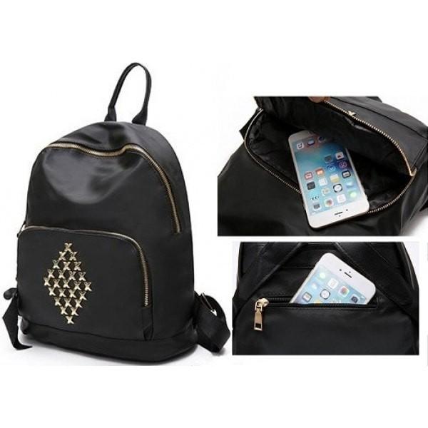 harga Ransel tas fashion elegan hitam keren wanita modis cewek back pack Tokopedia.com