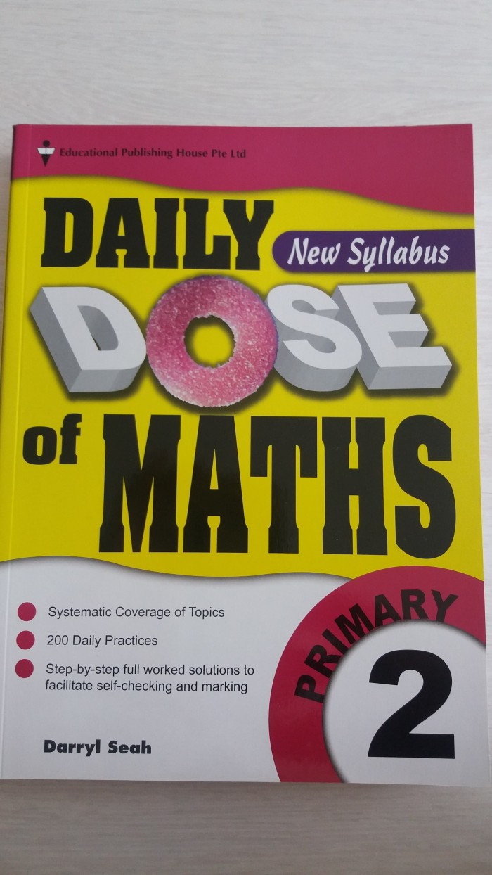 DAILY DOSE OF MATHS (primary 2)