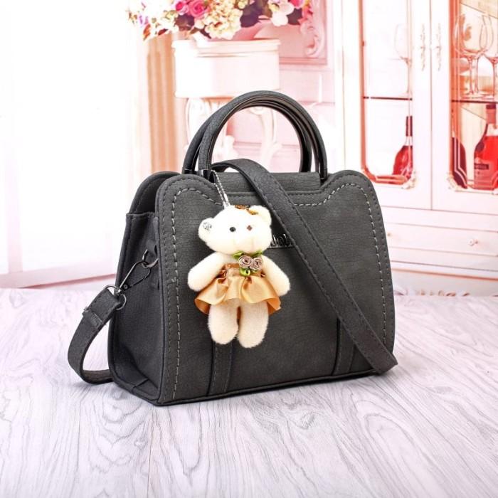 Tas Import K 21850 Tas Selempang Fashion Bag Murah Bata