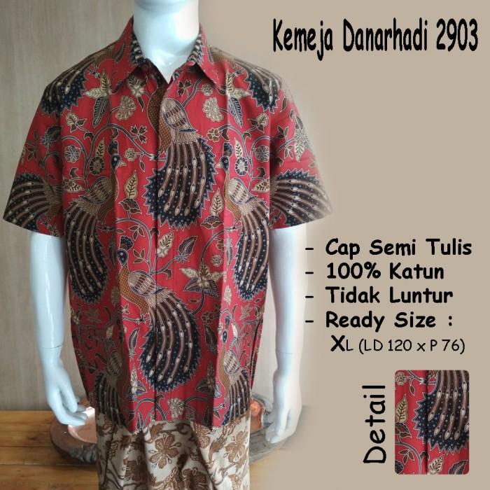 Jual Baju Kemeja Batik Danar Hadi Solo Original 2903 Toko Solopos 5e73f8890e