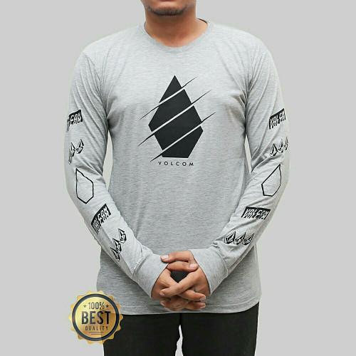 Kaos longseelve Premium Quicksilver Abu 048 Best Of Quality t-shirt