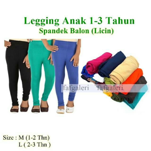 Jual Grosir Legging Anak 1 3 Tahun Bahan Spandek Balon Celana Legging Kab Bogor Abbas19 Store Tokopedia