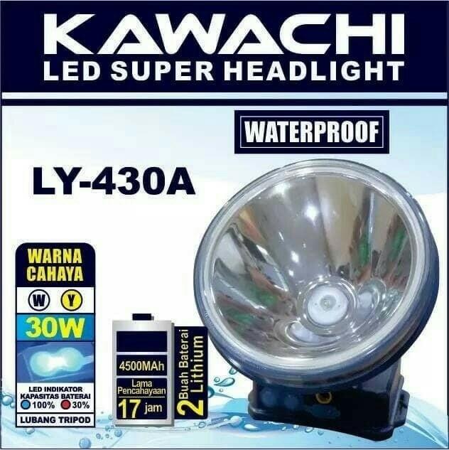 harga Senter Kepala Kawachi 30watt Ly-430a Tokopedia.com