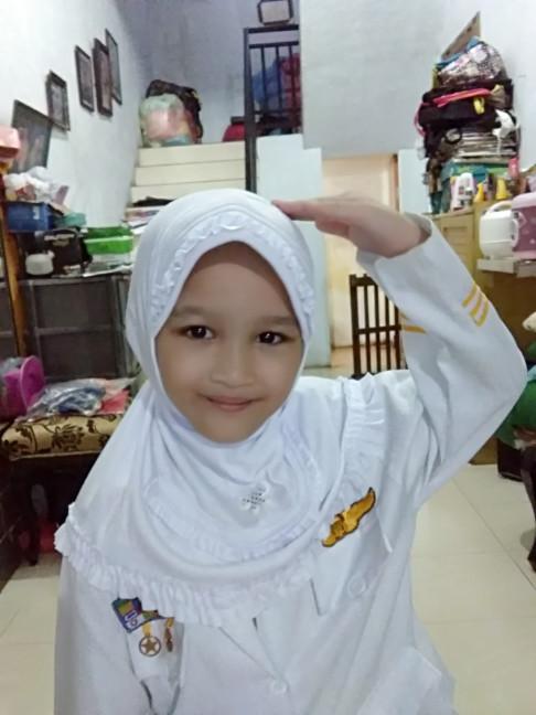 harga Jilbab putih anak tk dan sd Tokopedia.com