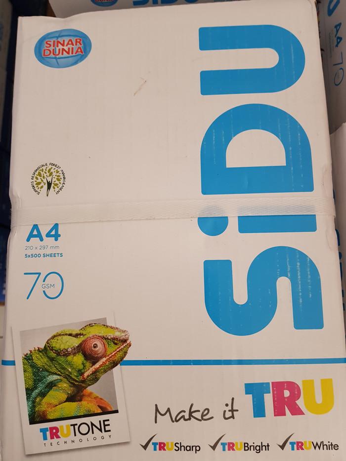 Info 1 Rim Kertas A4 70 Gram Travelbon.com