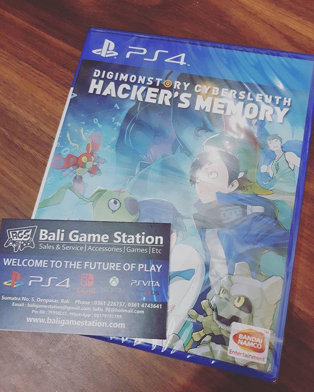 Jual PS4 DIGIMONSTORY CYBERSLEUTH HACKERS MEMORY - Kota Denpasar - BALI  GAMES STATION   Tokopedia