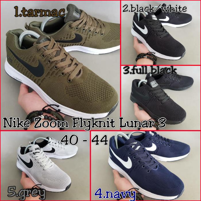 ed6aae8a91f ... uk sepatu running nike air flyknit lunar 3 import f29d4 03a65