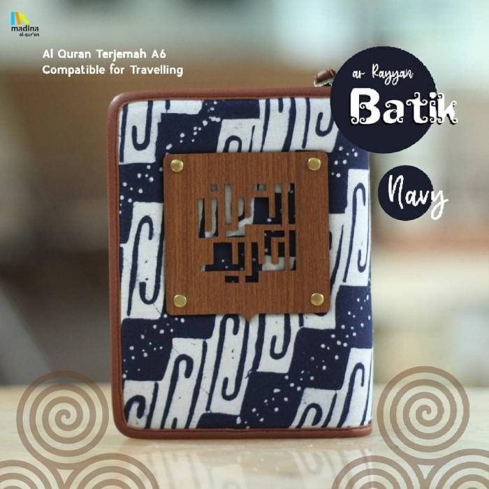harga Al quran arrayan cover batik Tokopedia.com