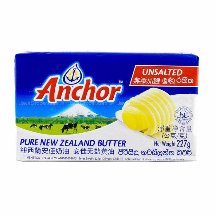 harga Unsalted Butter Anchor 500gr Tokopedia.com