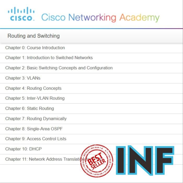 Jual Materi Cisco CCNA R&S v5 + Bonus Lengkap - Kab  Sukabumi - Indo  Network Fiber   Tokopedia