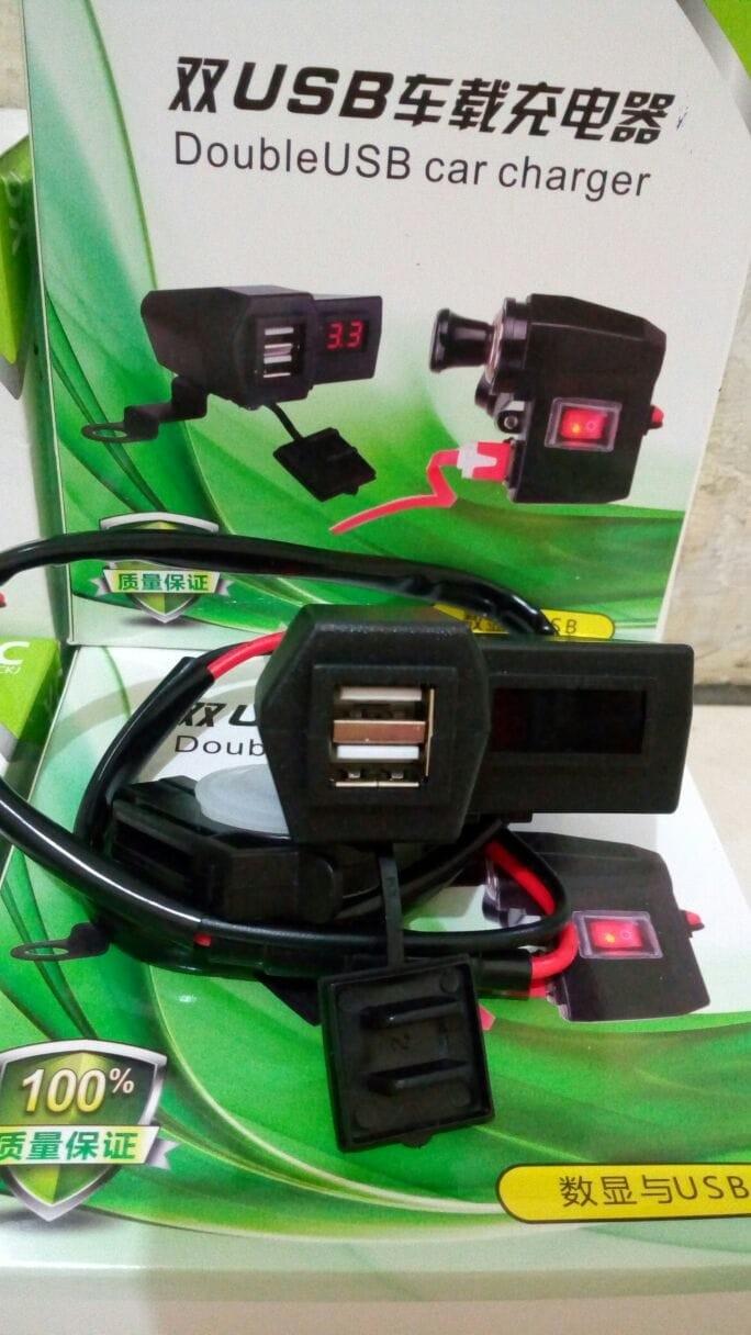 Jual Voltmeter Digital Cr7 Anti Air Deden Devil Tokopedia Green