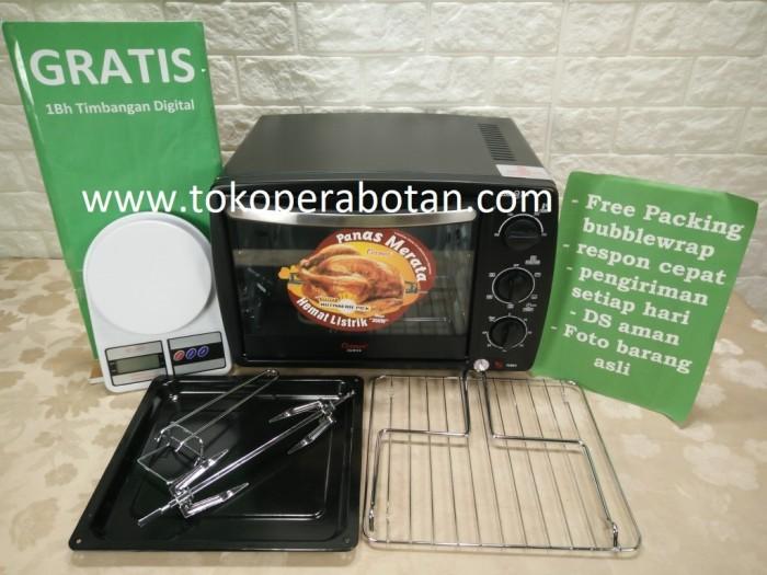 harga (gojek only) oven listrik cosmos co-9919r (19ltr) Tokopedia.com