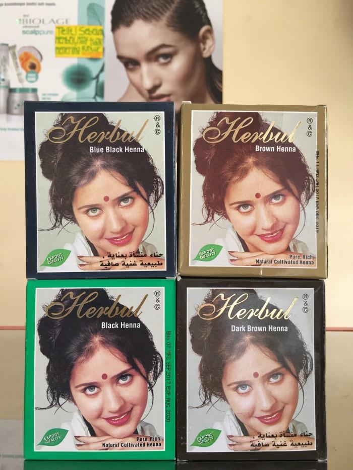 Jual Pewarna Rambut Henna Isi 6 Ss Radesa Collection Tokopedia