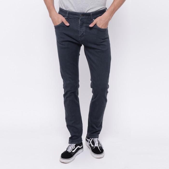 Edwin celana jeans 506-37-grey slim fit pria panjang abu-abu…