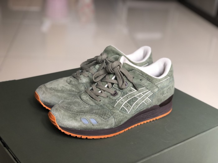 newest collection 5891a 47390 Jual ASICS Gel Lyte III Ronnie Fieg Militia (Special Box/Limited Ed ...