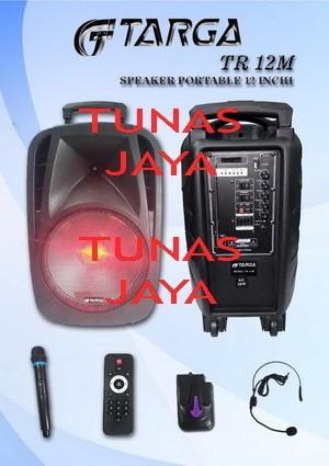 harga Speaker portable amplifier wireless targa tr 12m bluetooth - 12 inch Tokopedia.com